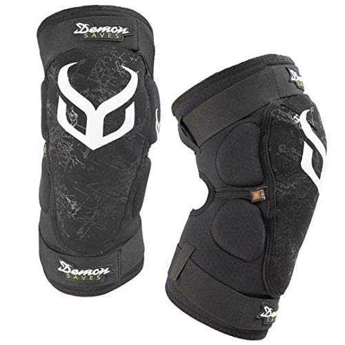 Demon Hyper X D30 V3 Mountain Bike Knee pad | BMX | MX | Snowboard (Large)