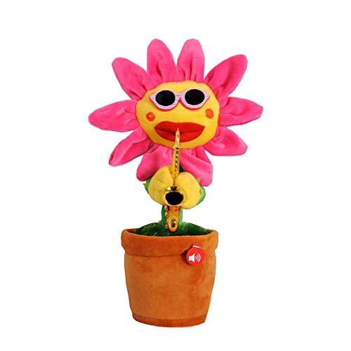 Toyvian Flor que canta bailando con saxofón...