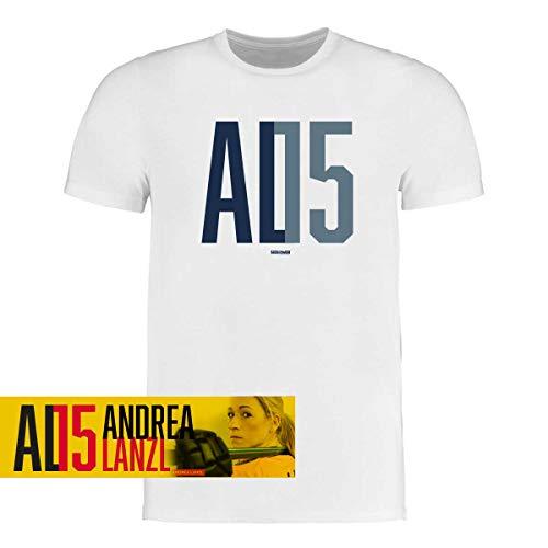 Scallywag® Eishockey T-Shirt Andrea Lanzl Logo I Größen S - 3XL I A BRAYCE® Collaboration (Eishockey für Frauen mit der Collection der Hockey Rekord Nationalspielerin AL15) (L)