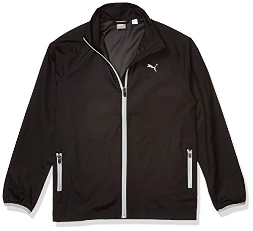 Puma Golf Boys 2019 Wind Jacket, Puma Black, x Large