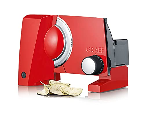 Graef S10003 Allesschneider, Metall, Rot...