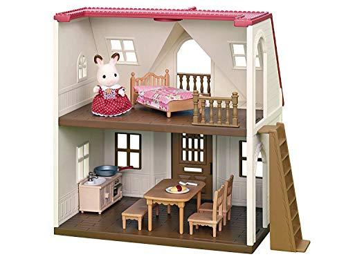 Sylvanian Families - Le Village - Le Cosy Cottage du Village - 5303 - Maison de Poupée - Mini Poupées
