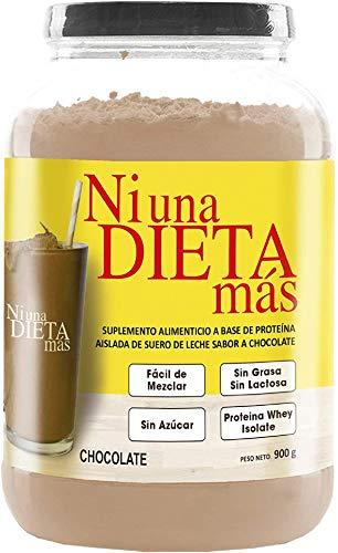 NI UNA DIETA MÁS Reduce el Abdomen con Proteína para Quitar la Ansiedad por Comer (para Niños y Adultos) sabor chocolate
