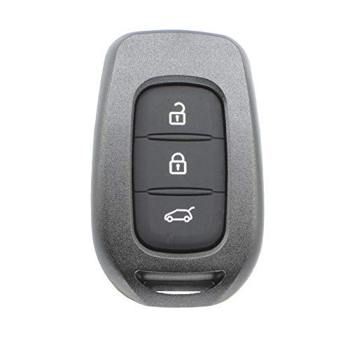 3 Botones para Renault Kwid Clio Trafic Dacia Sandero Logan Duster 2016 2017 2018 Funda de Mando a Distancia para Coche, Carcasa de Repuesto