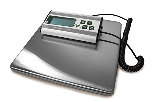 LEM Products 1167 Stainless Steel Digital Scale (330-Pound Capacity)