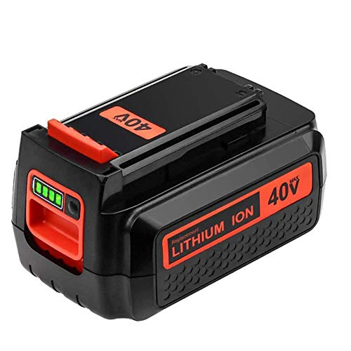 Eagglew Upgraded 3.0Ah Replacement Battery for Black and Decker 40V MAX Lithium Battery LBX2040 LBXR36 LBXR2036 LST540 LCS1240 LBX1540 LST136W 40-Volt Lithium Battery