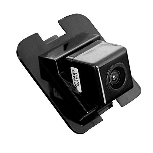 Navinio Rückfahrkamera wasserdicht Nachtsicht Auto Rückansicht Kamera Einparkhilfe Rückfahrsystem, Schwarz für Mercedes GLK C Klasse E Klasse S Klasse W204/ S204/ W212/ W221/ W216