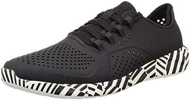 crocs Men's Literide Geopunk Pacer M Leisure Shoes and Sportwear Man, Multicolor (Black/White), 11.5 UK