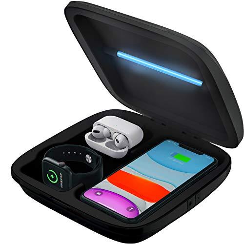 UV Box desinfección esterilizador (Adaptado a teléfono, Watch y...