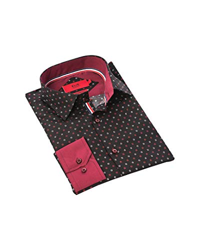 Elie Balleh Milano Italy Casual Shirt Little Kids Style: EBSH235-2B-BLACK Size: 10