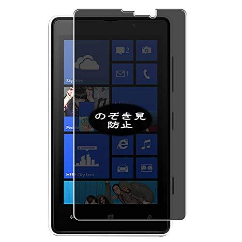 VacFun Pellicola Privacy per Nokia Lumia 820, Screen Protector Protective Film Senza Bolle e Antispy (Non Vetro Temperato) Filtro Privacy
