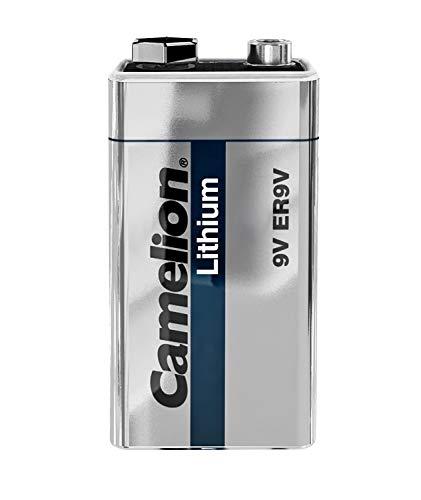 Camelion 19100122 9V Block Lithium Batterie (ER9V, 1200 mAh, 1er)