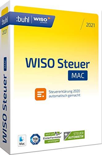 Preisvergleich Produktbild WISO Steuer-Mac 2021 (für Steuerjahr 2020 / frustfreie Verpackung)