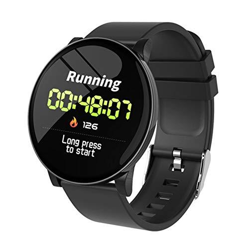 LXZ W8 Smart Uhr Frauen Männer Herzfrequenz Blutdruck Uhr Runde wasserdichte Smartwatch Frauen Sport Gesundheit Smart Armband Für Android Ios,D