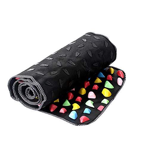Spielzeug Shiatsu Brett Fußmassage Pad Bambus schießt Gesundheit Trail Finger Druck Brett Fußmassage Pad Bambus schießt Gesundheit