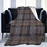 Outlander Plaid Blanket Super Soft Light Weight Cozy Warm Fluffy Plush for Bed Couch Living Room