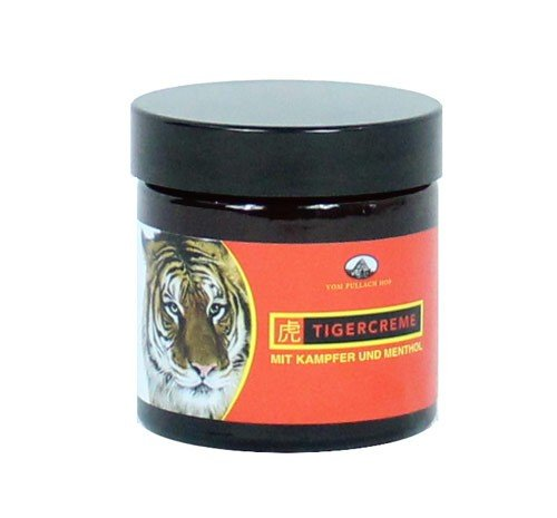 Tiger Creme Massage Balm - Linderung von Muskelschmerzen mit Kampfer und Menthol