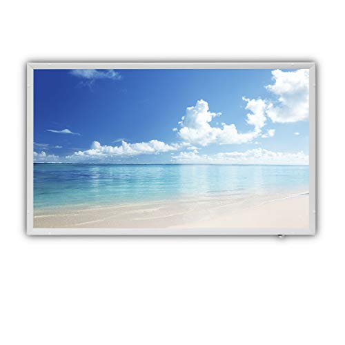 Protron Motiv Infrarotheizung Infrarot Panel Heizkörper Bild Elektroheizung Wandheizung 600Watt 600W 102x63cm (120315 Summer Landscape)