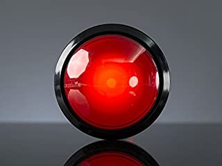 Adafruit Massive Arcade Button with LED - 100mm Red [ADA1185]