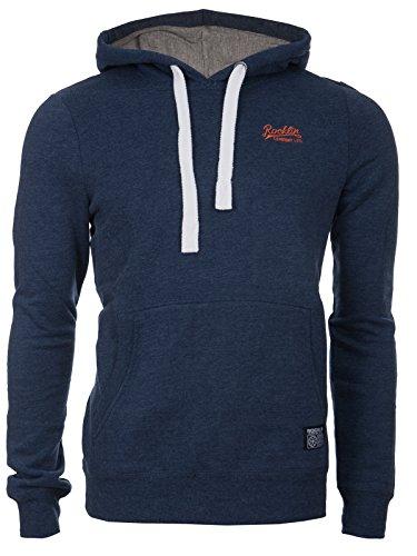 Rocklin Kapuzen-Hoodie | Model Alamo | Kuscheliger Pullover | Kapuze mit Kordeln | Herren | Marke Langarm | Sweatshirt | Sweatpullover | Männer