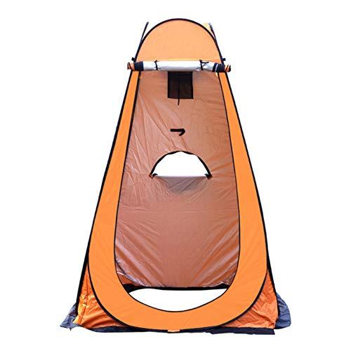 qianqian Pop-up-Zelt, Tragbares Strandcamp, Camping-Toilettenzelt, Privates Duschzelt Tragbar, Zum Wechseln Im Freien, Baden, Toilette, Lagerraumzelte, Tragbar Mit Tragetasche | Gelb | 47x47x75 ''