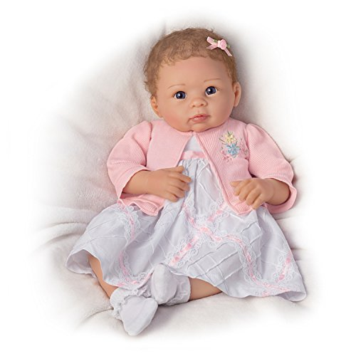 The Ashton - Drake Galleries 'A Moment In My Arms, Forever In My Heart' Newborn Baby Doll – Realistic Lifelike Baby Doll So Truly Real® Reborn Baby Doll