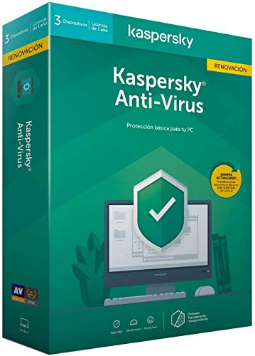 Kaspersky Antivirus 2020 3 Nutzer 1 Jahr