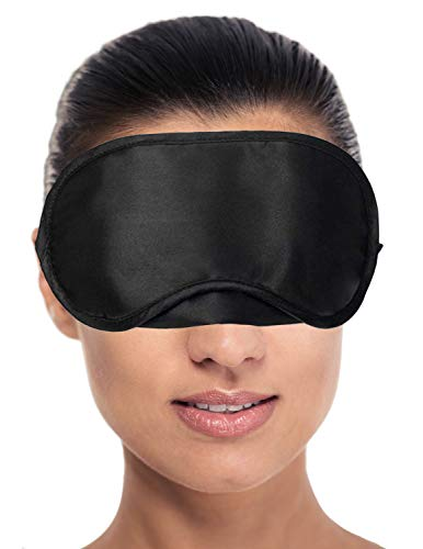 RiptGear Sleep Mask for Women and Men - Soft Ultralight No Pressure Eye Mask for Sleep &...
