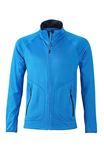 Men's Stretchfleece Jacket in cobalt/navy Taille: L