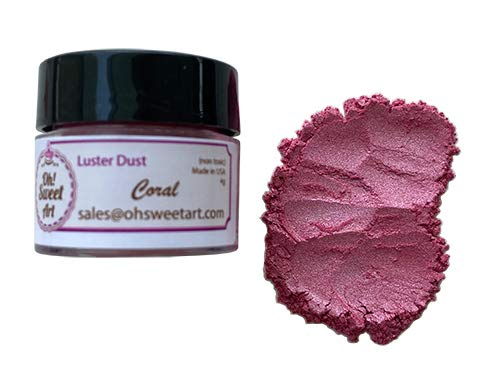 CORAL LUSTER DUST 4 5% OFF grams each Oh OFFicial store By container pearly pearl