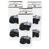 DynaSun 6X FH45621 Tiras de Carga CAM para Amarrar con Liberación Rápida 25mm 2.5m