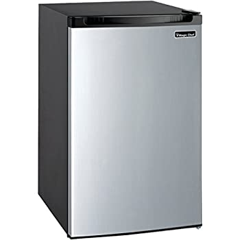 Magic Chef MCBR440S2 Refrigerator 4.4 cu ft Stainless Steel