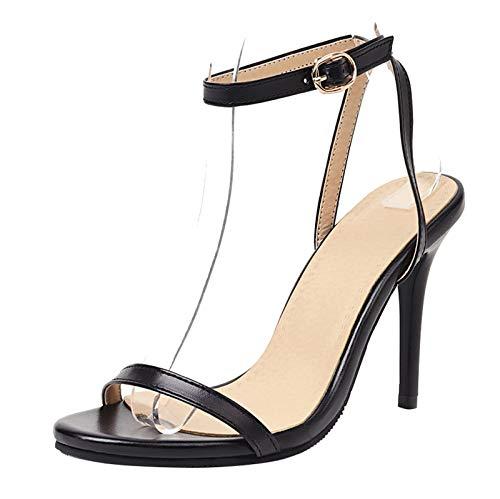 SacciButti Mujer Tacón de Aguja heels Sandalias Correa de Tobillo Tacón Alto...