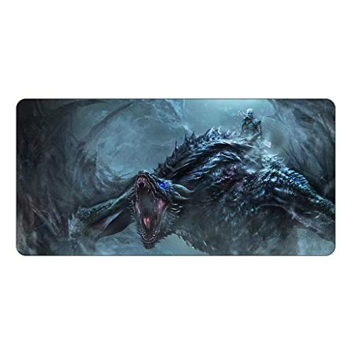 CFTGB Gaming Mouse Pad Grote Muismat Game of Thrones Speel Toetsenbord Mat Table Mat Uitgebreide muismat voor computer PC-muisonderlegger