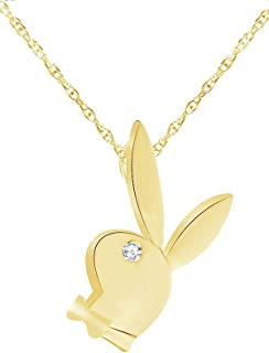 Best playboy gold necklace Reviews