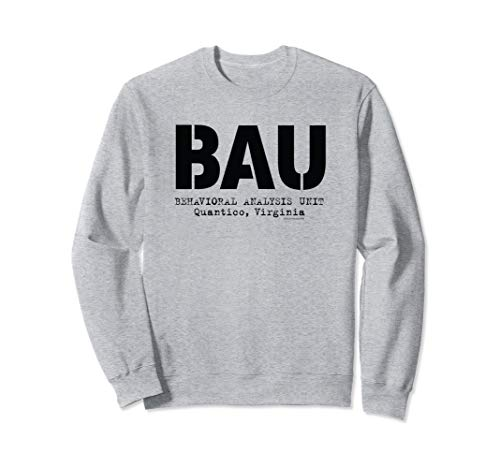 Criminal Minds BAU Quantico Sweatshirt