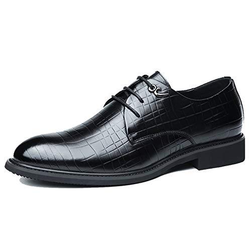 Zapatos Derby para Hombre, Zapatos de Trabajo Formales de Estilo británico, Zapatos...