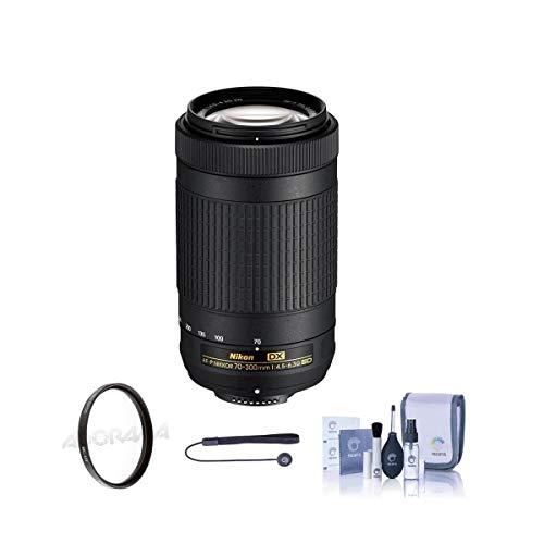 Nikon AF-P DX 70-300mm f/4.5-6.3G ED Lens - Bundlewith Filter Kit