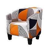 Tongliang 1-Piece ala Cubierta para Silla Stretch Funda de Sillón Universal Funda Elástica para Sofá Muebles Protector #11 40-50 * 55-75 * 70-90cm