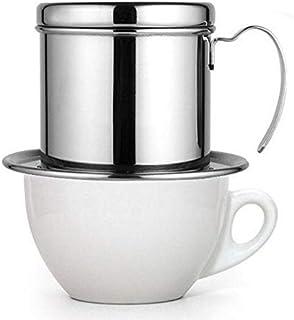 قمع تقطير القهوة الفيتنامية (موكا) من ميبرو مناسبة للقهوة المختصة و تقطير و ترشيح القهوة MIBRU Vietnamese coffee distillat...