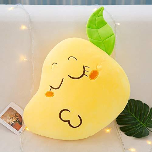 tuyuzhen Mango Throw Pillow Cushion Gives Girlfriend A Doll Plush Toy 25cm Y