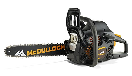 An image of the Mcculloch CS 42S Petrol Chainsaw, 42cc, 16 Inch Bar Length, 56 Drive Links, OxyPower, Soft Start, Anti-Vibration System, Fully Assembled