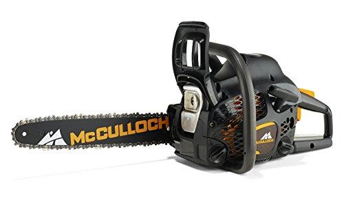 McCulloch 00096-73.206.01 CS42S Motosierra de gasolina con motor de 1500 W de potencia, longitud de espada de 35 cm, mango ergonómico