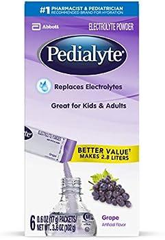 Pedialyte Electrolyte Powder Sticks, 3.6 Ounce