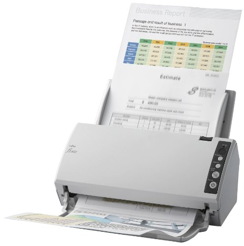PA03607-B061 - FI-6110 DOCUMENT SCANNER 20 ppm, 40 ipm, A4, Duplex (Color), USB, Con: USB 2.0 (cable in the box),PaperStream IP (TWAIN/ISIS), PaperStream Capture, ScanSnap Manager for fi Series/ Eingabetyp: Farbe/ Vorlagenform.: DIN A4, A6, A5/ opt. Aufl.: 600x600 dpi/ Duplex: automatisch