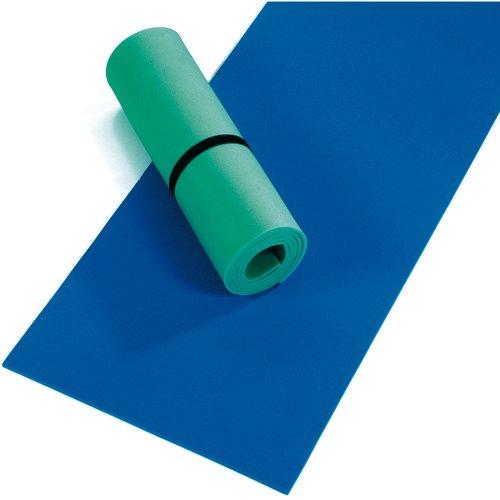 Happy People, leichte Liegematte aus langlebigem PE, 180x50 cm: Gymnastikmatte Fitness Yoga Matte Turnmatte Bodenmatte Campingmatte