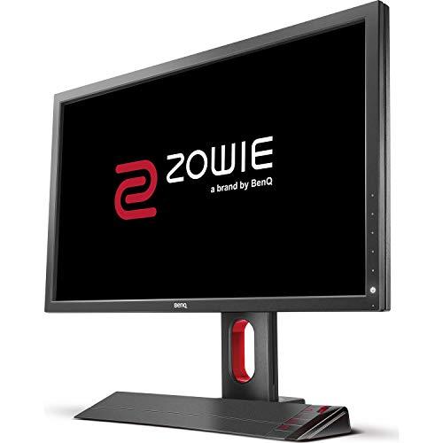 BenQ ZOWIE XL2720 - Monitor Gaming de 27' (144Hz para e-Sport, 1ms, Black eQualizer, Altura y Rotación Ajustable) Color Vibrance, Gris Oscuro y Rojo