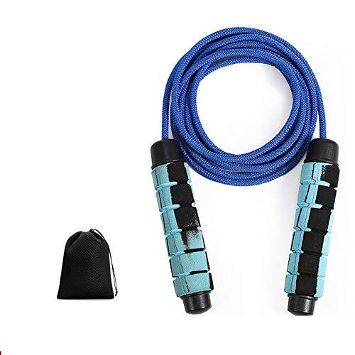 FFDGHB Springseil Gewicht Tragende Fitness Springseil Gewichtsverlust ZäHlen Springseil Elektronisches Fettverbrennungsseil