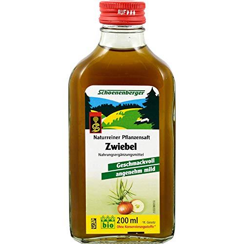 Schoenenberger Naturreiner Pflanzensaft Zwiebel, 200 ml Soluzione