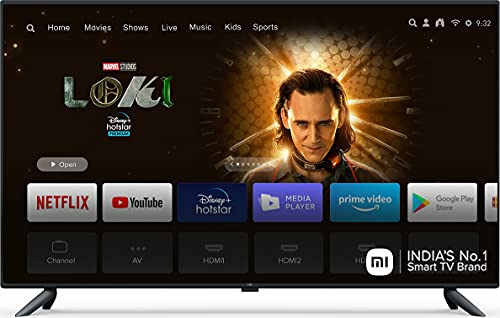 Mi 125.7 cm 4K Ultra HD Smart LED TV